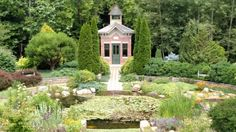 DeFries Gardens in New Paris, Indiana (make a stop on next Michigan trip)