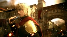 Final Fantasy Type-0 HD Coming to PS4 - http://videogamedemons.com/news/final-fantasy-type-0-hd-coming-to-ps4/
