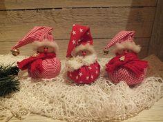 ♥ 3 Weihnachtswichtel ♥ Wichtel  Zwerg   Shabby  Gnom Weihnachten Geschenk Tilda
