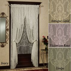 Queens Lace Window Treatment