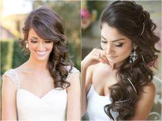 Penteado de Lado para Noivas | blogdamariafernanda.com