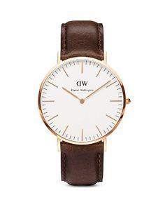 Daniel Wellington Classic Bristol Watch, 40mm | Bloomingdale's
