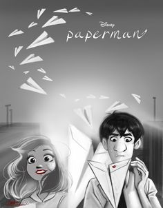 Paperman by AngieParadiseeker.deviantart.com on @deviantART