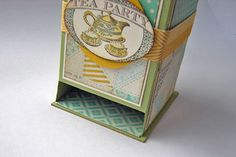 Part A. Written. See Part B for Video. Splitcoaststampers - Tutorials Tea Bag Dispenser Written Tutorial.