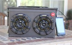How to Turn Any Ammo Box into an Awesome Set of Portable Speakers « MacGyverisms