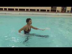 Aqua Instructor tip #1 - front kicks - YouTube