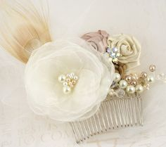 handmade hair comb from etsy