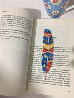 Kaneviçe kitap ayracı çarpıişi
