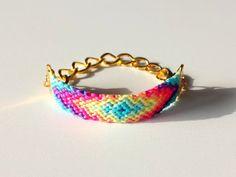Golden Chain Friendship Bracelet by BUMBLU on Etsy, €15.00