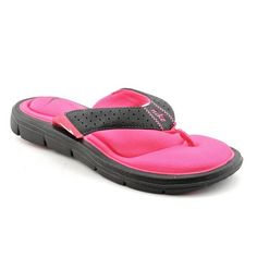 14226233275 Nike Women s Comfort Thong Black White Vivid Pink Sandal 11 Women US  Treat  your feet to superior comfort this summer with this casual sandal.