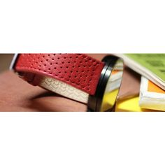 Red #Autodromo watch strap | Accessories by Page And Cooper
