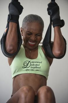 The Baltimore woman is listed in the 2010 and 2011 Guinness World Records as the oldest competitive female bodybuilder in the world.