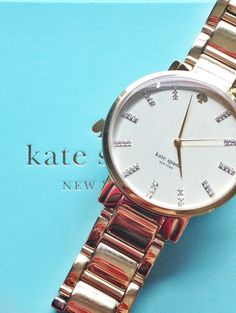 I really want a Kate spade watch!!!