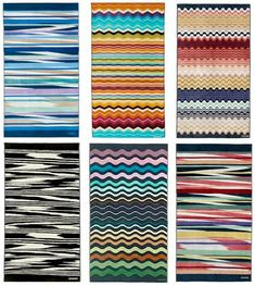 Missoni Beach towels