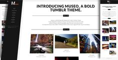 Museo - A Bold Tumblr Portfolio Theme (Portfolio)