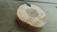 Oak Celtic Spiral Pendant