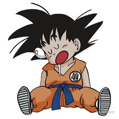Kid Goku t-shirt