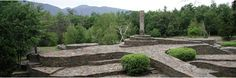 Main view of Opus 40 with the Monolith  Saugerties, New York  http://www.opus40.org/#