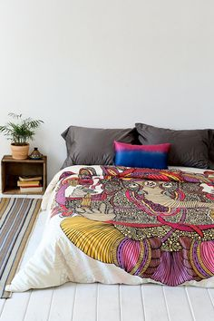 Valentina Ramos For DENY Lord Ganesha Duvet Cover - Urban Outfitters