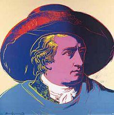 Kunstdruck Poster: Andy Warhol, Goethe, 1982