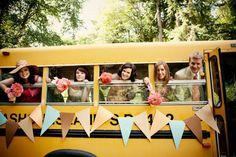 7 Fun #Wedding #Transportation Ideas... → Wedding #Currie - Teacher themed wedding