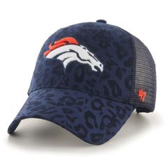 Women's '47 Navy Denver Broncos Billie Adjustable Hat