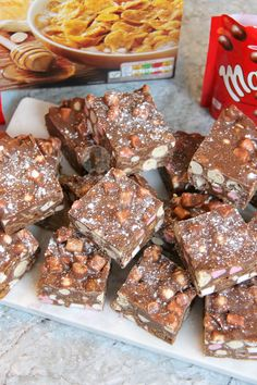 A delicious twist on a classic – Cornflake & Malteser Rocky Road! Perfect for a party, or just as a good snack! I know Rocky Road is one of those classical things you can bake with your kids, or just make when you fancy something chocolatey, but I have always LOVED it with Cornflakes and Maltesers inside. It is delicious. The Maltesers take care of the crunchy/biscuity element too the the Rocky Road, but the cornflakes make a nice alternative! This is something I used to make ages a...