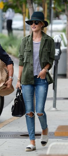 modelsoffthecatwalk:   Rosie Huntington Whiteley Fashion Tumblr | Street Wear, & Outfits