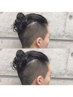 Man Bun Hairstyles, Asian Men Hairstyle, Braided Hairstyles Updo, Asian Men Long Hair, Hair And Beard Styles, Long Hair Styles, Two Block Haircut, Undercut Long Hair, Braided Top Knots