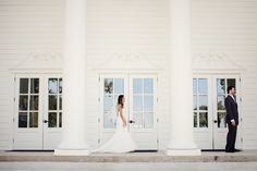 First Look | The Milestone Aubrey Mansion | Natalie Gore and James Casey Wedding Day