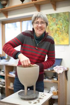 Mary Fox Pottery Her gallery and studio is located in old town Ladysmith on Vancouver Island