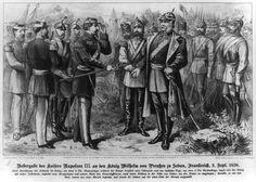 Schlacht von Sedan Uebergabe des Kaisers