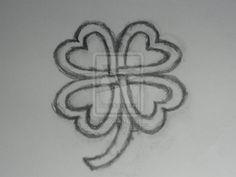 Celtic+Knot+Four+Leaf+Clover   Celtic Clover by lucivarsfiera
