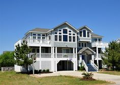 Twiddy Outer Banks Vacation Home - Panasea - Corolla - Semi-Oceanfront - 6 Bedrooms  Loved this house!!!