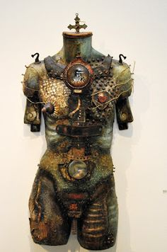 Another very cool piece of sculpture.  Why do I love junk so much?