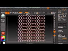ZBrush 4R4 Tutorial: Use of Noise PlugIn to create Alphas