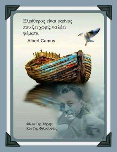 Albert Camus, Life Is Good, Fitness, Quotes, Movie Posters, Inspiration, Greek, Quotations, Biblical Inspiration