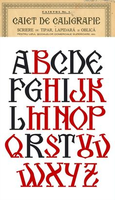 Kogalon An Old Romanian font by Florinf.