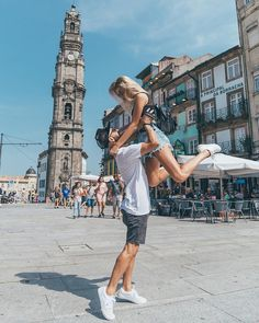 A lover, a travel buddy and a best friend all rolled into one!Olá from Porto! Best Instagram Photos, Foto Instagram, Instagram Posts, Best Couple Photos, Porto City, Couple Moments, Couple Photography Poses, Europe, Foto Pose