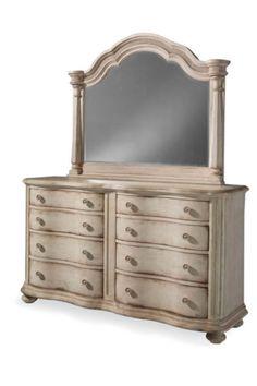 ART Furniture - Belmar II 8 Drawer Dresser and Mirror in Paint White - 189131-189120-2617