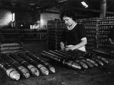 MPAIN. Industries in the Basque country are kept running by women who replace factory workers who have gone off to fight for Euzkadi's autonomy. A missile factory. 1936