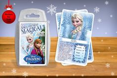 Disney's Frozen Top Trumps Card Game