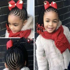 A selection of 50 kids braids with beads hairstyles to get your kids holiday ready. From kids braided updos with beads, to single braids with beads. Black Kids Hairstyles, Baby Girl Hairstyles, Natural Hairstyles For Kids, Kids Braided Hairstyles, Holiday Hairstyles, Natural Hair Styles, Teenage Hairstyles, Hairstyle Short, Hairstyles 2018