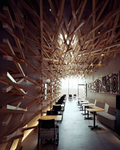Starbucks Interior by Kengo Kuma and Associates | HomeDSGN, a daily source for inspiration and fresh ideas on interior design and home decoration.