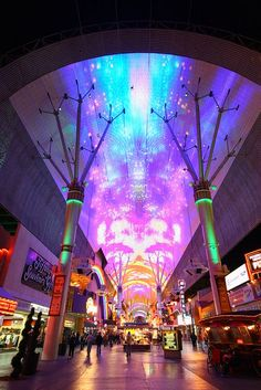 DONE The Fremont Street Experience. Las Vegas, NV | re-pinned by http://wfpcc.com/waterfrontpropertieslistings.php