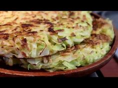 healthy and cheap food, cabbage pie - YouTube