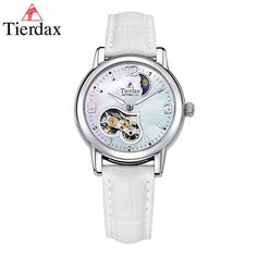 US $83.11 - Tierdax Montre Femme Mechanical Skeleton Women Watch Hollow Design Of Tourbillon Lady Wrist Watch Relogio Feminino Waterproof