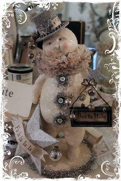 **My Desert Cottage**: Angels and Snowmen