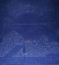 Back of quilt by Lauren Venell