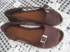 zapatillas a crochet - Buscar con Google